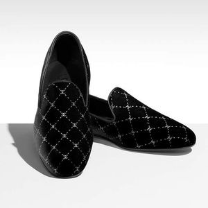 Chanel 2017 Quilted Velvet Loafers